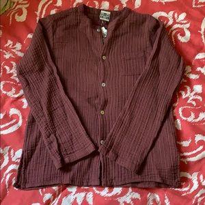 NWT Bonton kids button down shirt - sz 8